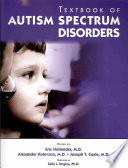 Textbook of Autism Spectrum Disorders Book