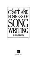 The Craft and Business of Song Writing Book