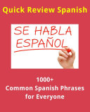 1000  Common Spanish Phrases and Words for Everyone