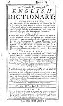 An universal etymological English dictionary     Seventeenth edition  etc