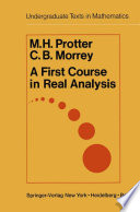 A Course In Calculus And Real Analysis [Pdf/ePub] eBook