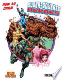 How to Draw Super Powered Heroes TPB