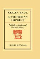Kegan Paul  A Victorian Imprint
