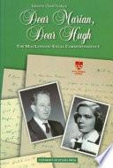 Dear Marian, Dear Hugh