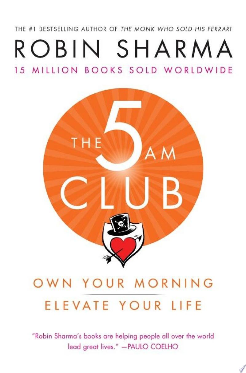 The 5am Club: Change Your Morning, Change Your Life image