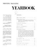 Printing Magazine     Yearbook Edition