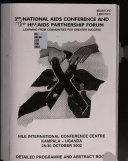 3rd National Aids Conference And 1st Hiv Aids Partnership Forum
