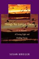 Things No Longer There Pdf/ePub eBook