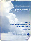 Thunderstorms: The Thunderstorm in human affairs Pdf/ePub eBook