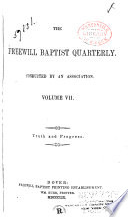 The Freewill Baptist Quarterly