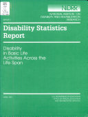 Disability in Basic Life Activities Across the Life Span