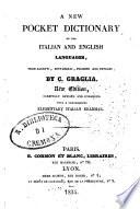 A New Pocket Dictionary of the Italian and English Languages  from Baretti Bottarelli  Polidori and Petroni