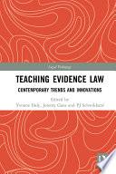 Teaching Evidence Law