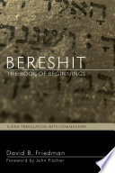 Bereshit The Book Of Beginnings