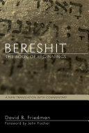 Bereshit, The Book of Beginnings