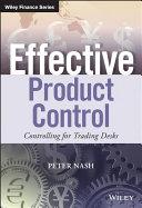 Effective Product Control Pdf/ePub eBook