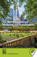 The Microeconomics of Wellbeing and Sustainability Book