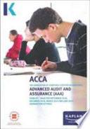 ADVANCED AUDIT AND ASSURANCE (AAA - INT/UK) - STUDY TEXT