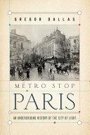 Pdf Metro Stop Paris