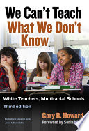 We Can t Teach What We Don t Know