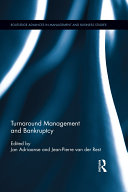 Pdf Turnaround Management and Bankruptcy