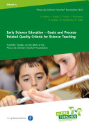 Early Science Education     Goals and Process Related Quality Criteria for Science Teaching
