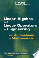 Linear Algebra and Linear Operators in Engineering Book