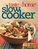 Taste of Home Slow Cooker Book