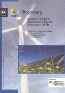 Global Trends in Sustainable Energy Investment 2010
