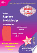 How to Replace an Invisible Zip in Unlined skirt