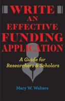 Write an Effective Funding Application