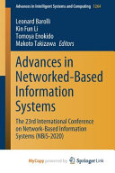 Advances in Networked-based Information Systems