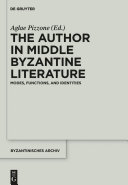 The Author in Middle Byzantine Literature Pdf/ePub eBook
