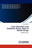 Liver Disorders and Oxidative Stress