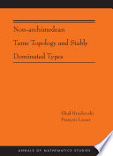 Non Archimedean Tame Topology and Stably Dominated Types  AM 192