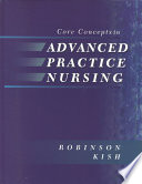 Core Concepts in Advanced Practice Nursing