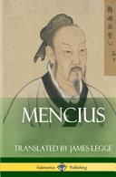 Mencius (Classics of Chinese Philosophy and Literature) (Hardcover)