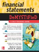 Financial Statements Demystified  A Self Teaching Guide   A Self teaching Guide Book