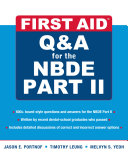 First Aid Q&A for the NBDE