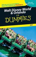 Walt Disney World & Orlando For Dummies 2007