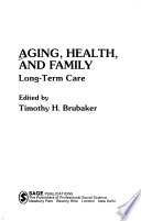 Aging, health, and family