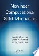 Nonlinear Computational Solid Mechanics Book