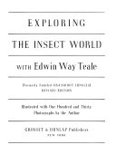 Exploring the Insect World with Edwin Way Teale