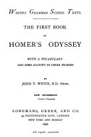 The first book of Homer s Odyssey