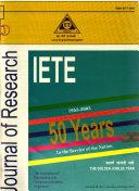 Iete Journal Of Research Book PDF