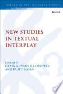 New Studies in Textual Interplay