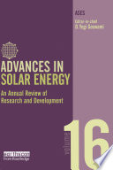 Advances in Solar Energy  Volume 16 Book