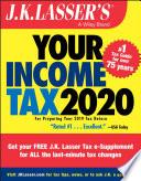 J K Lasser S Your Income Tax 2020