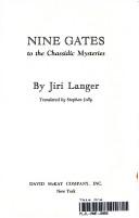 Nine Gates to the Chassidic Mysteries Pdf/ePub eBook