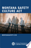 Montana Safety Culture Act Book